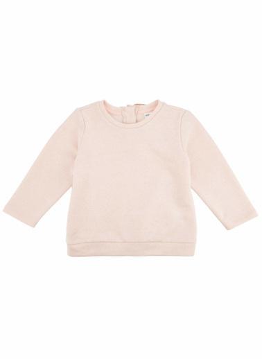 DeFacto Kız Bebek Melek Kanatlı Sweatshirt Pembe